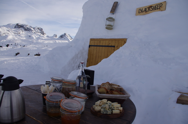 Blacksheep village Igloo La Plagne