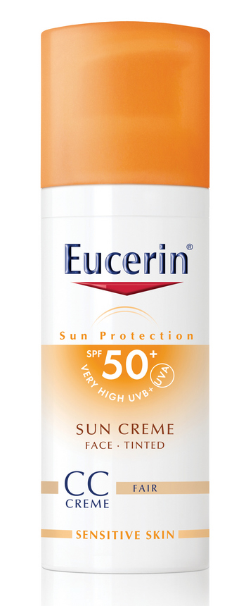 ECN 15889 69775 Sun Protection Sun Creme 50 Tinted Fair PS Print sjena cr