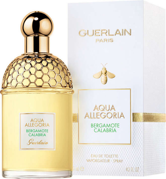 guerlain acqua allegoria bergamot calabria eau de toilette spray 75ml with box