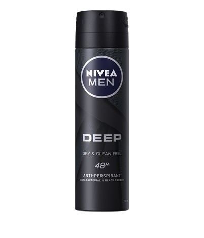 NIVEA MEN DEEP Clean gel za umivanje lica