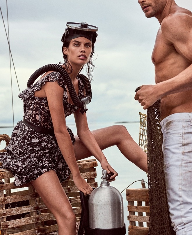 Sara Sampaio Vogue Cover Photoshoot04 cr