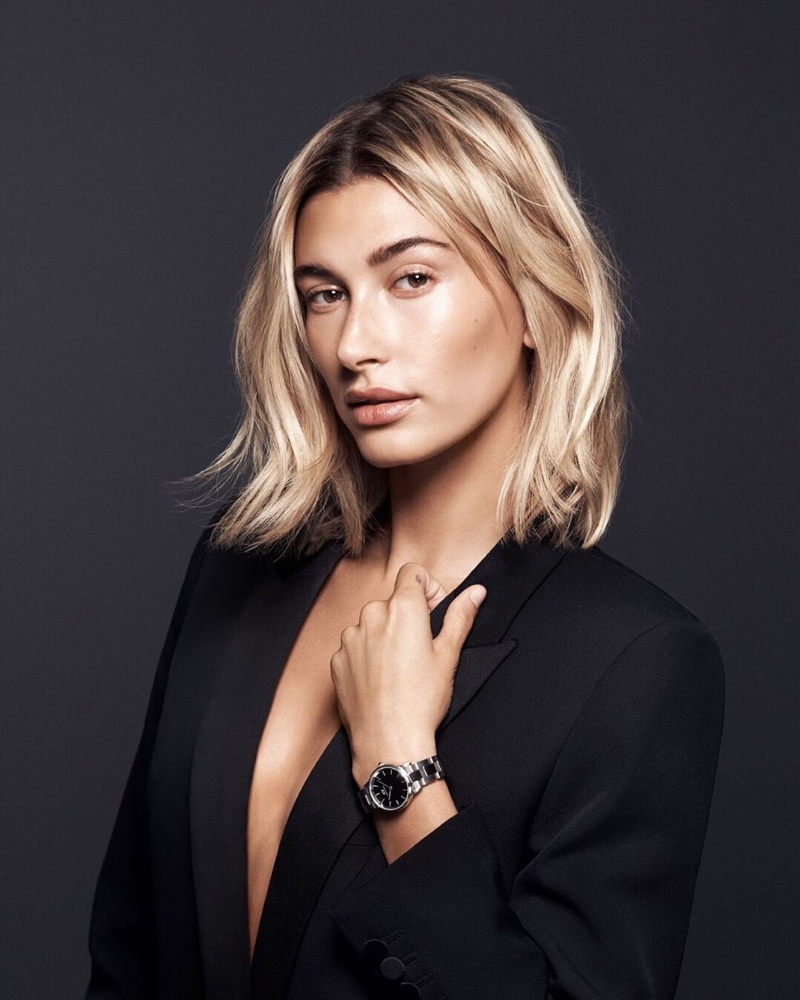 Hailey Baldwin Daniel Wellington Watch Campaign03