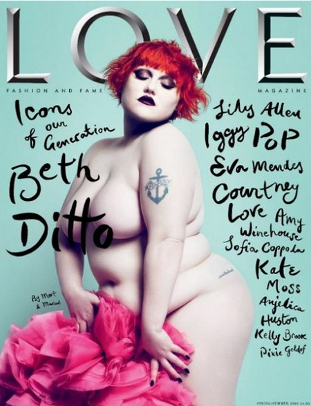 Love Magazine Beth Ditto Issue 1
