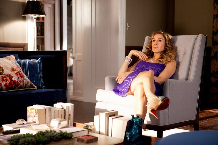 sex and the city 2 carrie-at-home-apartment