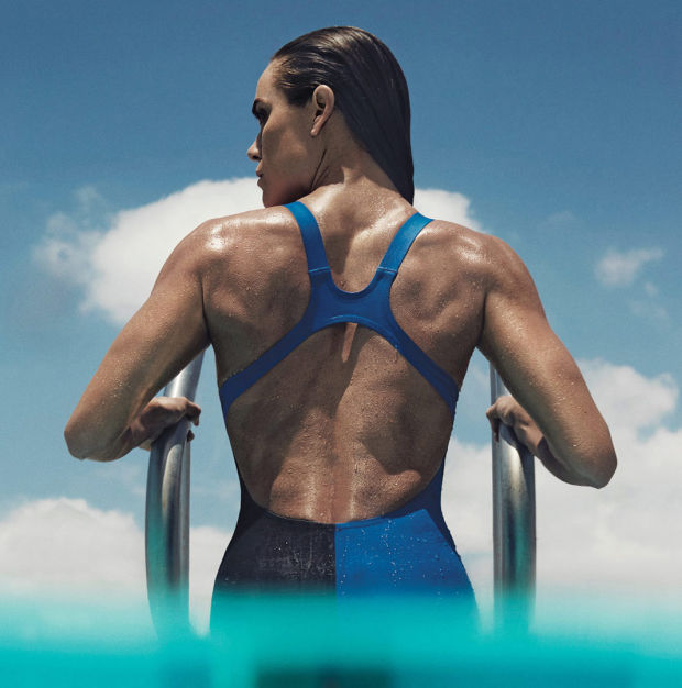 Swimmer Natalie Coughlin Photo Robbie Fimmano - Self mag