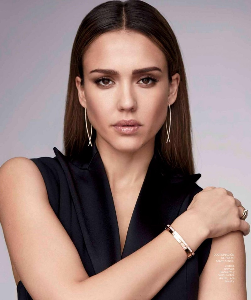 Jessica Alba Harpers Bazaar Mexico March 2017 Cover Photoshoot02