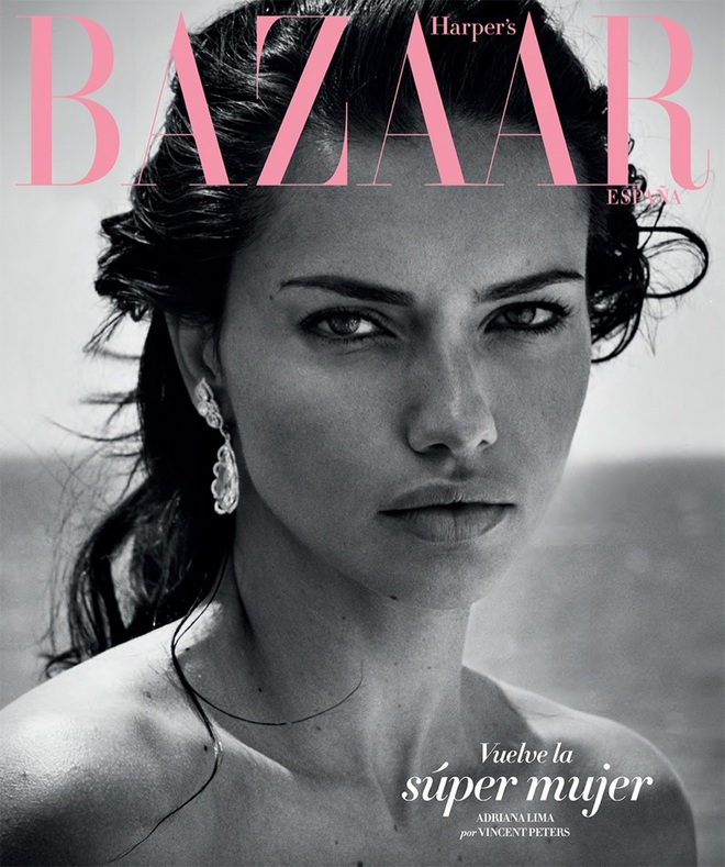 Adriana Lima Harpers Bazaar Spain July 2017 Cover Photoshoot01