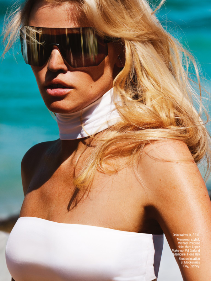 SheriffCherry Ibiza   Mario Testino Lara Stone   Vogue Australia   April2016  4
