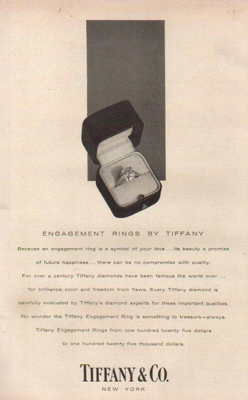 tiffany and co ad 1956