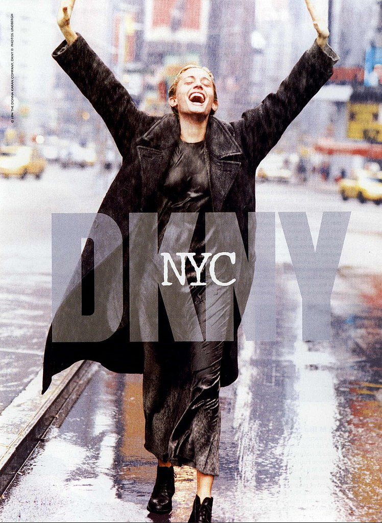 Beri Smither DKNY Fall 1994 peter lindbergh
