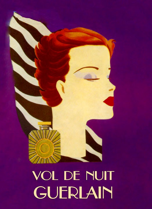 guerlain vol de nuit vintage advert