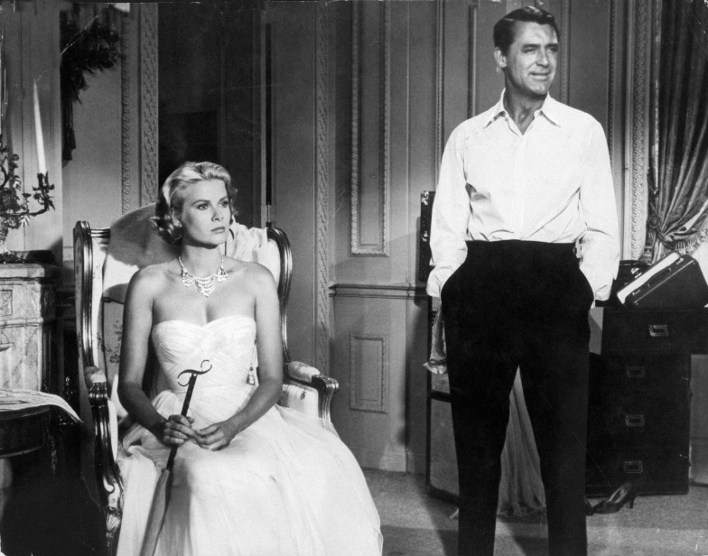 Cary Grant and Grace Kelly in To Catch A Thief 1955