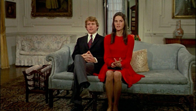 Ali MacGraw  LOVE STORY  red dress 4