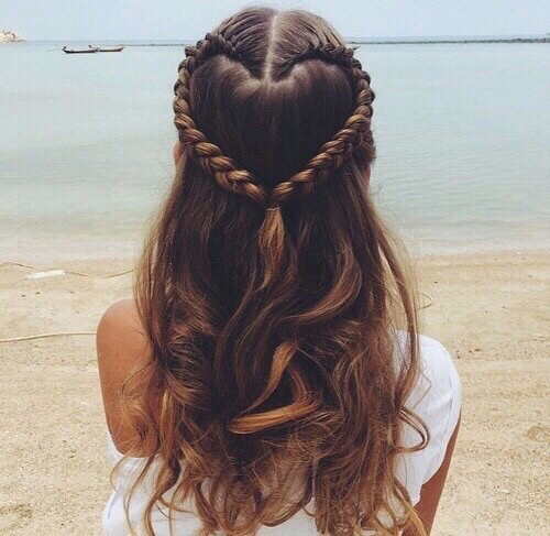 Heart-hairstyle