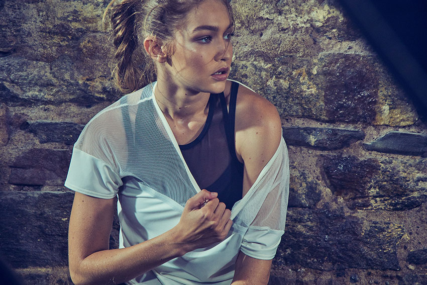GIGI HADID JOINS FORCES WITH REEBOK TO TELL NEXT PHASE OF BE MORE HUMAN CAMPAIGN 2