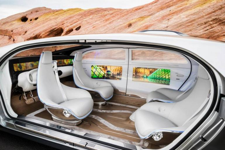 f 015 luxury motion mercedes concept self driving car