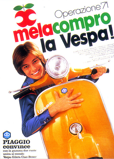Vintage Vespa Advertising Aroud The World 3
