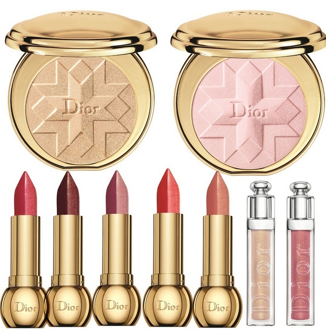 Dior-Golden-Shock-Makeup-Collection-for-Christmas-2014-lips-and-cheeks