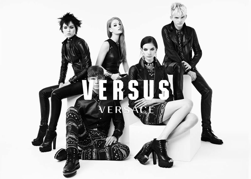 holie may versus versace fall winter 2014 2015 campaign ben toms