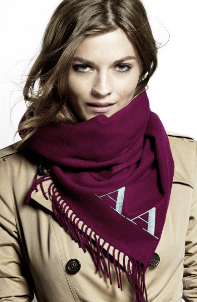 Burberry Scarf Styling - The Bandana featuring Amber Anderson