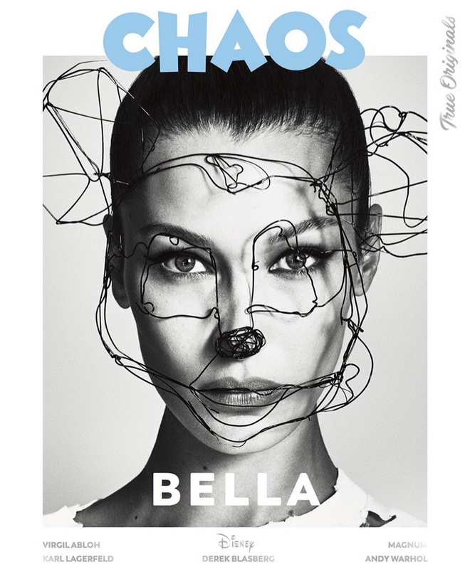 Bella Hadid Chaos Magazine Disney Cover