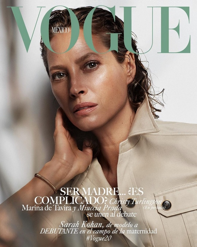 Christy Turlington Vogue Mexico May 2019 Covers01