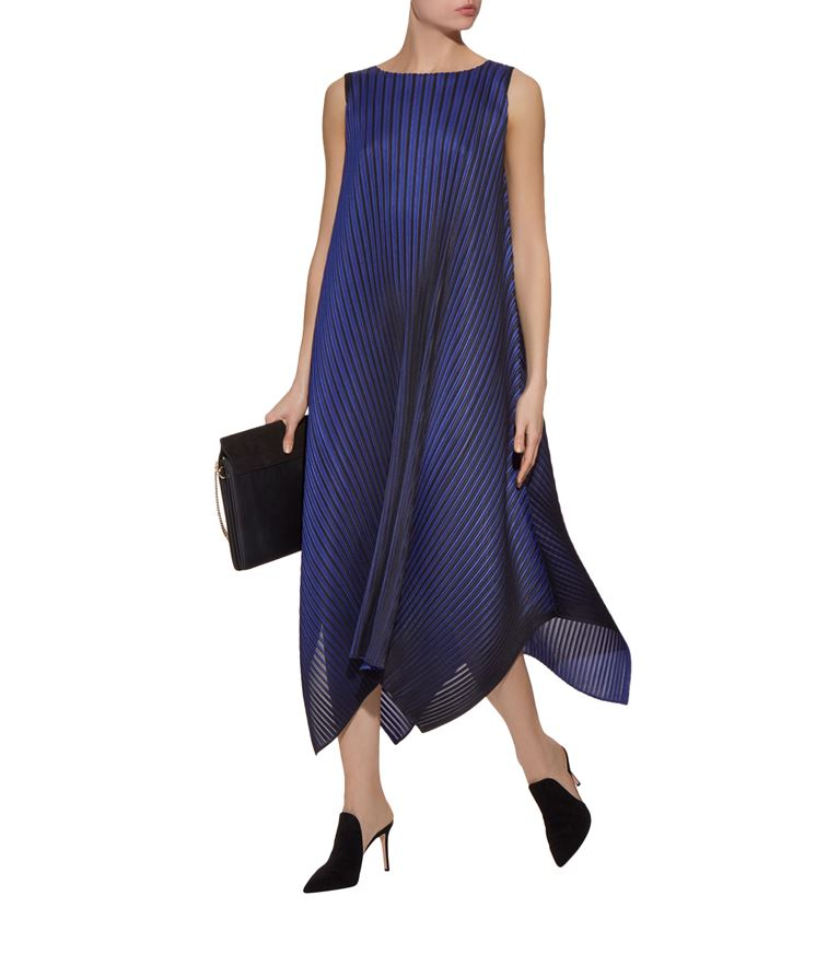 ombre pleated dress 000000006029338003 f